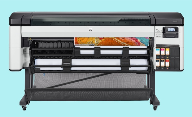 Large Format Printing: das neue 64-Zoll-Drucksystem für sichere Kartenproduktionen, der HP Designjet Z6 Pro.