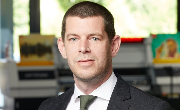 Large Format Printing: Arjen Evertse, neuer Vertriebs-Generaldirektor von Mimaki (EMEA).