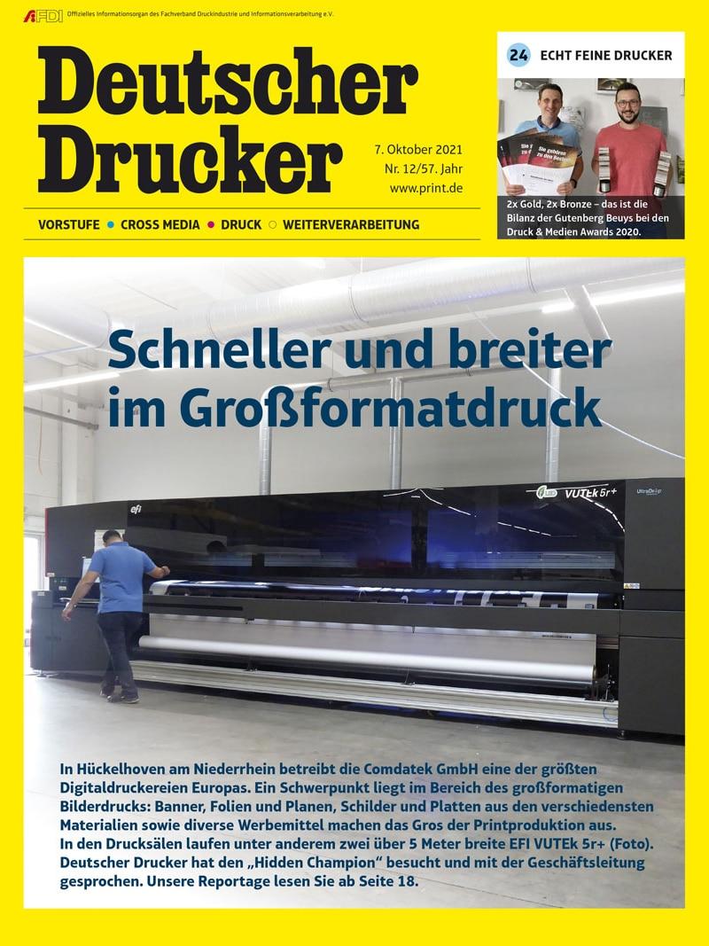 Produkt: Deutscher Drucker 12/2021